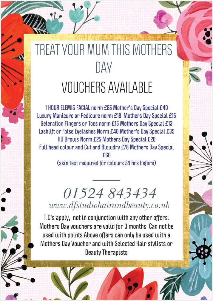Mothers day approaching