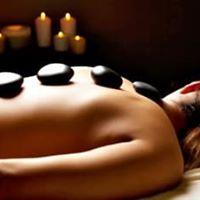 Hot Stones Back Massage